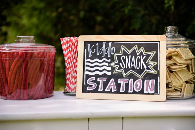 kiddo snack station